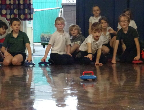Class 3 Learns to Kurl!